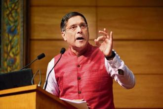 Former chief economic adviser Arvind Subramanian.