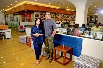 Ronnie and Zarina Screwvala. The couple talk about working on the ground in rural India and its challenges for philanthropists.