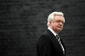 As the minister responsible for the Brexit negotiations, David Davis is a major voice in the debate in the UK. Photo: Reuters