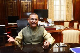 Minister of state for civil aviation Jayant Sinha. Photo: Ramesh Pathania/Mint