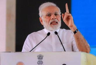 Prime Minister Narendra Modi has also judged as the most effective world leader on Facebook as on an average each of his posts saw 99,133 interactions. Photo: PTI