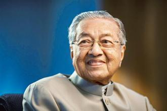 Malaysian Prime Minister Mahathir Mohamad. The lesson from him is that leaders must reorient their economies for an information revolution. Photo: Bloomberg.