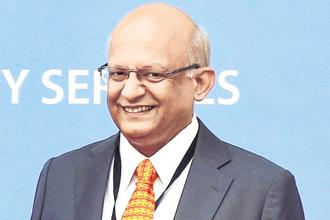 TCS COO N. Ganapathy Subramaniam. Tata Consultancy Services's ability to scale up blockchain reflects the company's overall strategy to build rather than buy talent and technology in the new areas. Photo: