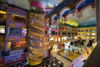 The largest mall in Greater Noida, The Grand Venice, is finding it hard to attract footfalls, even though the only other mall in the vicinity is a good 5km away. Photo: Priyanka Parashar/Mint