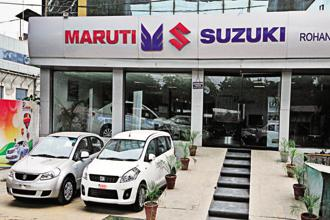 The share of mini-cars such as Alto and Eon in overall passenger vehicle sales has declined from 35% in 2010 to 18% in the year ended 31 March 2018. Photo:  Ramesh Pathania/Mint