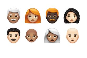 Emojis have been used multiple times to make a cultural statement. Photo: Apple