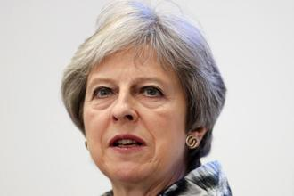 UK Prime Minister Theresa May. Photo: AFP