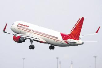 The government's proposal to sell a 76% stake as well as transfer management control of the debt-laden Air India to private players failed to take off in May. Photo: Reuters