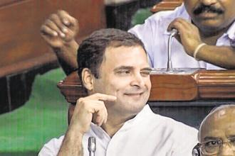 Congress president Rahul Gandhi launched a blistering attack on the NDA government during the debate on the no-confidence motion moved by TDP leader Kesineni Srinivas on Friday.