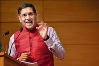 Former chief economic adviser (CEA) Arvind Subramanian. Photo: Pradeep Gaur/Mint