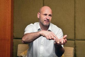 Joseph Lubin, founder of ConsenSys—a US-based blockchain technology firm—and co-founder of Swiss-based Ethereum. Photo: Ramesh Pathania/Mint