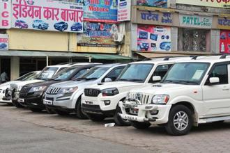 The pre-owned car market has been subdued since November 2016, when the government demonetized high-value notes. Photo: Shankar Mourya/HT