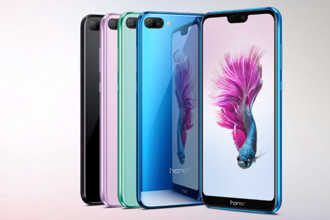 The Honor 9N is available in Midnight Black, Robin Egg Blue, Lavender Purple and Sapphire Blue colour variants