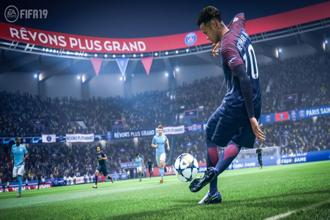 A screenshot from 'FIFA 19'.