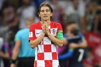 Croatia's Luka Modric reacts at the end of the 2018 Fifa World Cup final. Photo: AFP