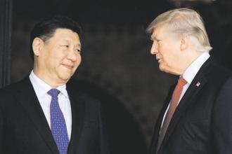 Chinese President Xi Jinping with US President Donald Trump. Photo: Reuters