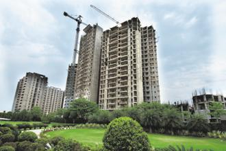 Refinancing deals provided a cushion for developers to hold prices despite slowing sales. Photo: Ramesh Pathania/Mint