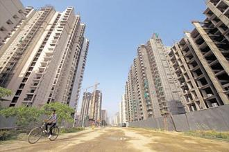 M3M acquired the land parcel for ₹1,211 crore from the Sahara Group three years ago. Photo: Pradeep Gaur/Mint