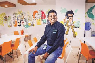 Freshworks founder Girish Mathrubootham. Freshworks competes with companies such as Zendesk and behemoths like Salesforce. Photo: Mint