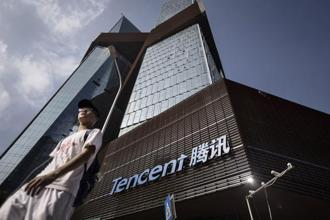 Tencent stock, down 3.3% on Tuesday and 9.8% in July, capped its biggest monthly retreat since 2014. Photo: Bloomberg