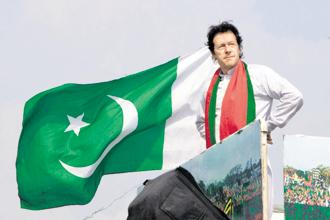 Imran Khan's Pakistan Tehreek-e-Insaf (PTI) has emerged as the single largest party after the Pakistan elections. Photo: Getty Images