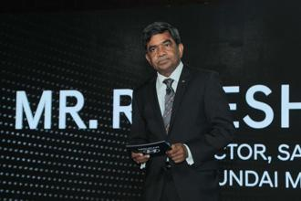 Rakesh Srivastava  steered Hyundai India through one of the most successful period in the company's history. Photo: HT
