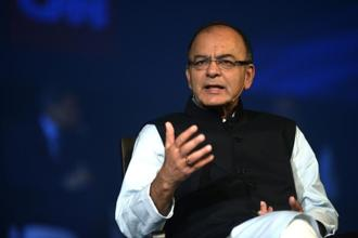 Finance minister Arun Jaitley has been active on social media for the last few weeks, from taking on opposition parties on political issues to writing on economic matters including the cuts to the goods and services tax rates. Photo: Abhijit Bhatlekar/Mint
