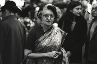 Former prime minister Indira Gandhi had several rocky encounters with 'cow protectors' months after she was elected to office in the mid-1960s. Photo: Getty Images