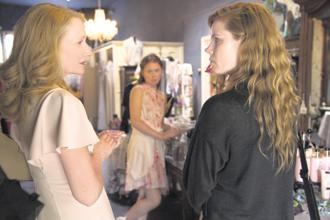 (from left) Patricia Clarkson, Eliza Scanlen and Amy Adams in 'Sharp Objects.'