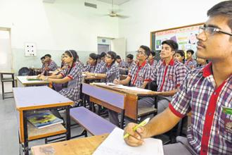 The centre may grant more funds to states showing positive results on school education. Photo: HT