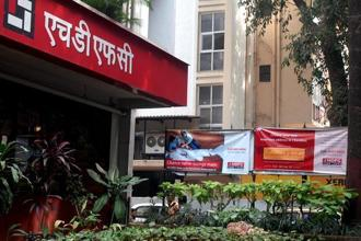 HDFC AMC shares made a blockbuster debut today. Share prices rose over  65%. Photo: Mint