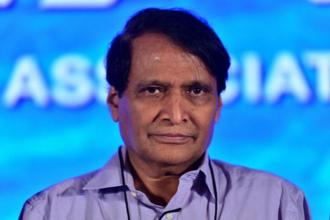 Trade and commerce minister Suresh Prabhu. Photo: Pradeep Gaur/Mint.