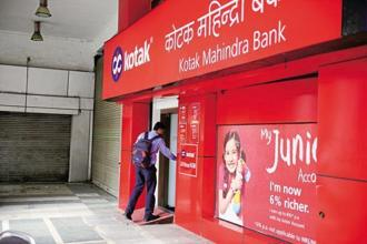 Kotak Bank seems to have found a neat solution to the problem of reducing promoters' ownership in the bank.