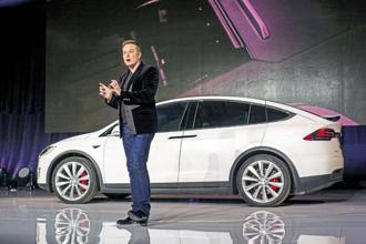 Elon Musk owns almost 20% of Tesla Inc
