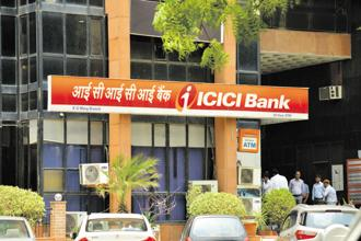 At 11.16am, the ICICI Bank stock was trading at Rs 334.20 on BSE, up 5% from previous close. Photo: Mint