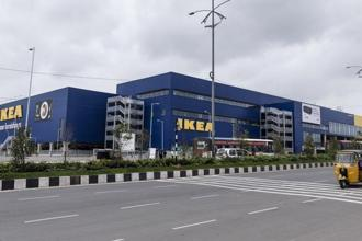 India's first Ikea store opened today in Hyderabad. Photo: Bloomberg