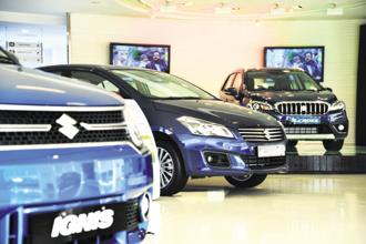 Maruti Suzuki expects that a car comparison website to help generate sales leads, as online queries generate data and user information that can be shared with its own dealers. Photo: Ramesh Pathania/Mint