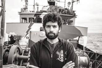Siddharth Chakravarty would like to see more laws that empower fishworkers. Photo: Sea Shepherd