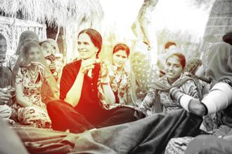 Fashion designer Anita Dongre believes that when you empower women, you empower a family and build a stronger community.
