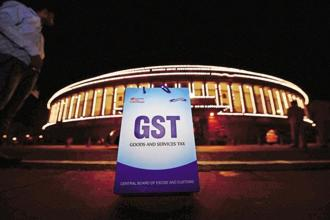 The ministry also said that 5% GST rate is applicable on both fertilizers supplied for direct use as well as on fertilizer intermediates used in production of complex fertilizers. Photo: PTI
