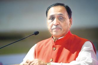 Gujarat Chief Minister Vijay Rupani. Photo: Mint