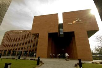 TCS shares ended 0.98% higher at ₹1,993.85 on BSE, while those of RIL slipped 1.15% to close at ₹1,204.