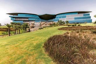 The exterior of the Jaquar global HQ building in Manesar. Photo courtesy: Jaquar