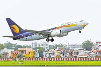 Jet Airways has initiated a formal stake-sale process to raise $350-400 million from global private equity firms. Photo: Reuters