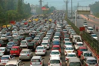 Traffic accounts for less than 30% of variation in mobility across Indian cities, finds new research. Photo: HT