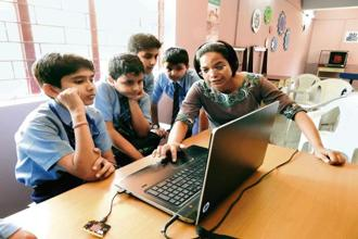 Atal Tinkering Labs allows schoolchildren to experiment with DIY kits.