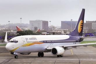 Jet Airways has deferred its Q1 results announcement, leading to a fall in share price. Photo: Mint