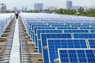 SoftBank-owned SB Energy bid Rs 2.60 per kWh at which it will sell solar power, to win contracts to develop 600 MW. Photo: Bloomberg