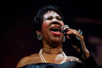 Aretha Franklin is the first woman voted into the Rock and Roll Hall of Fame. Photo: Reuters