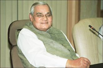 Foreign policy under Atal Bihari Vajpayee saw many innovations, particularly his attempts to reset India-Pakistan ties. Photo: HT